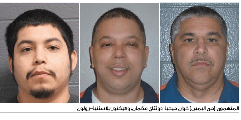 اكتشاف شبكة دولية للإتجار بالمخدرات يديرها نزلاء في أحد سجون ميشيغن