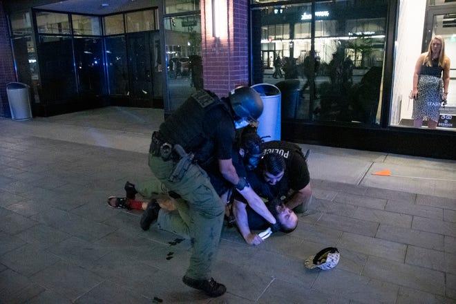 مواجهة جديدة بين الشرطة والمتظاهرين المناهضين للعنصرية في ديترويت