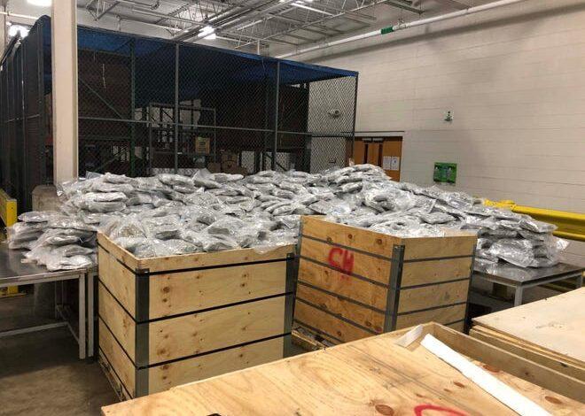 ضبط شحنة جديدة من الماريوانا أثناء محاولة تهريبها من كندا إلى ديترويت