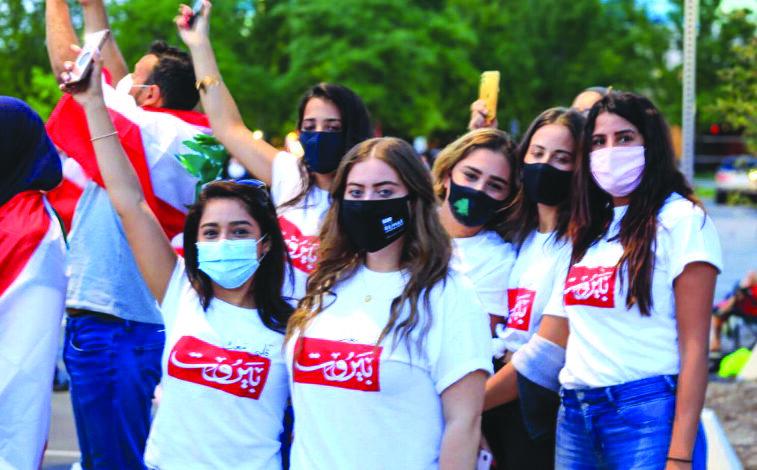 الجالية اللبنانية تتفاعل مع كارثة بيروت: مساعدات إنسانية ووقفات تضامنية