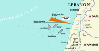 حق لبنان البحري 1700 كلم2 .. والمشكلة مع إسرائيل تتمحور حول معايير الترسيم