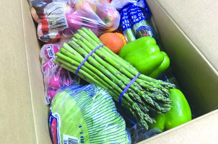 توزيع حصص غذائية أسبوعياً في ستيرلنغ هايتس