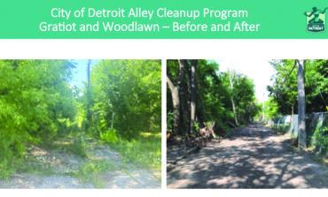 بلدية ديترويت تخطط لتأهيل ألفي زقاق في 2021