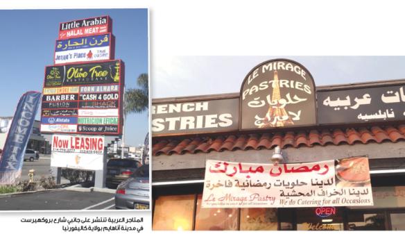 الجالية العربية في كاليفورنيا تواصل المطالبة بإطلاق  اسم «ليتل أرابيا» رسمياً على حيّ تجاري في مدينة آناهايم