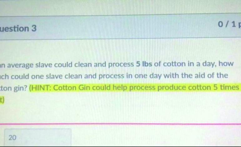 واجب مدرسي حول شراء العبيد يثير استياء الأهالي في إحدى ضواحي ديترويت