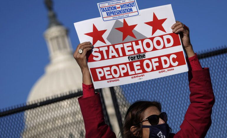 البيت الأبيض والديمقراطيون يتحركون لجعل واشنطن الولاية رقم 51