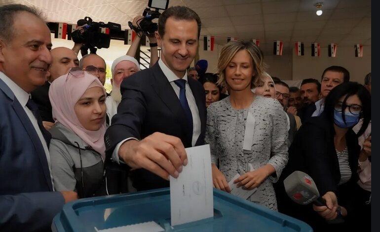 الأسد رئيساً لسوريا لولاية رابعة