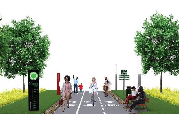 بدلاً من بؤر الخراب .. ديترويت تبدأ بإنشاء مسار أخضر على امتداد 27 ميل
