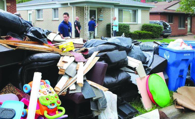 بايدن يعلن حالة «الكارثة» في مقاطعتي وين وواشطنو لتعويض ضحايا فيضانات يونيو: المساعدات الفدرالية على الطريق!