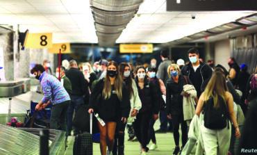 انخفاض أعداد المسافرين عالمياً  بأكثر من 60 بالمئة في 2020