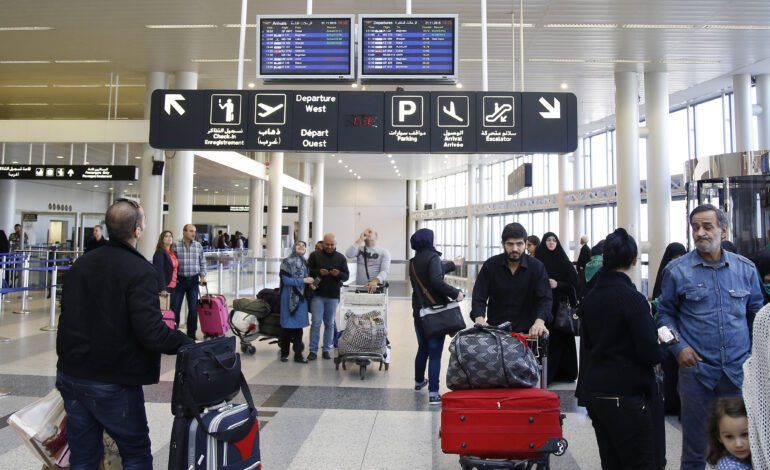 لبنان يعيش موجة الهجرة الثالثة في تاريخه الحديث