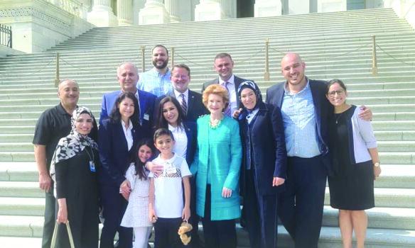 المحامية العربية الأميركية فدوى حمود تدخل التاريخ من بوابة المحكمة العليا في واشنطن