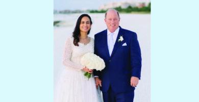 رئيسة بلدية ديترويت يعقد قرانه على طبيبة وجامعية مصرية أميركية